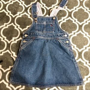 | TOMMY | Girls Denim Overall Dress